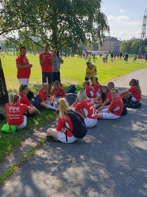 RØK UT: Også Jenter 16-laget røk ut av årets Norway Cup. Mot Lyn 2 ble det tap i 16-delsfinalen.