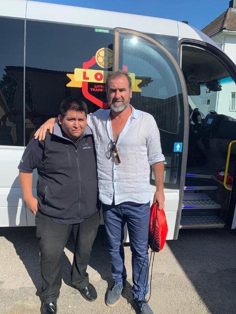 UNITED-SUPPORTER: Renè Saaler er svoren Manchester United-supporter, og kommer aldri til å glemme da han fikk være sjåfør for Eric Cantona.