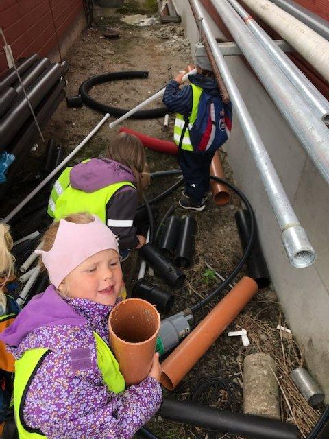 KJEKT MED UTFLUKT: Ikke alle dager er like i barnehagen – det er sikkert og visst.