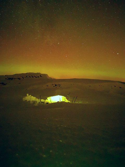 Helgetur med telt til Lifjell i Telemark