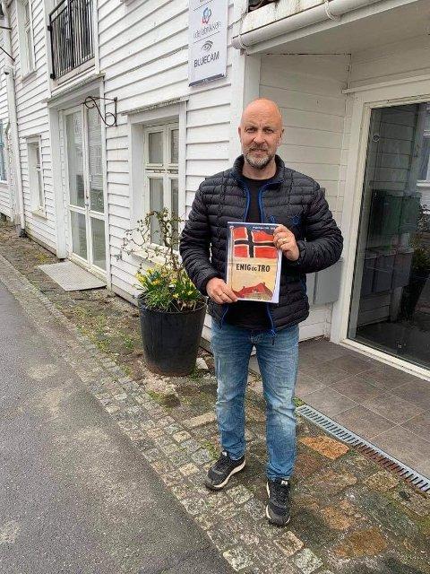 NYTT HEFTE: Stig Eie er klar med et nytt frigjøringshefte.