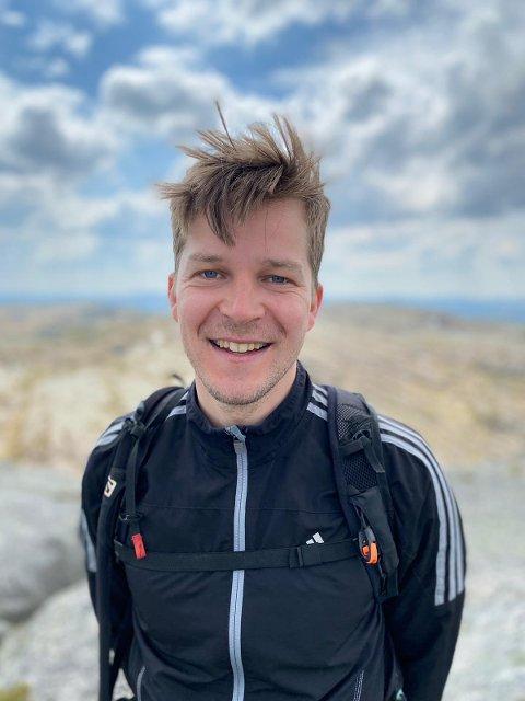Ruben Østrem (33) fra Lund er en av søkerne til stillingen som næringssjef i Sirdal kommune.