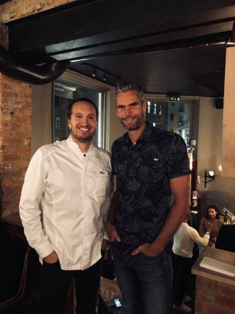 NYÅPNING: James Ian Maxwell Stuart og Thomas Alsgaard satser på det franske kjøkkenet med nyåpningen av sitt nye restaurant.
