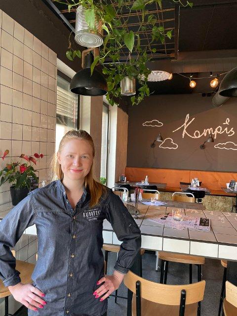 PÅ RØA: Henriette Bjarvin er daglig leder i nye restaurant Kompis på Røa. Den åpner rundt 1. mai.
