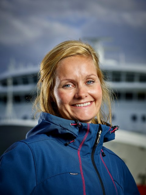 Kommersiell direktør Asta Lassesen i Hurtigruten.