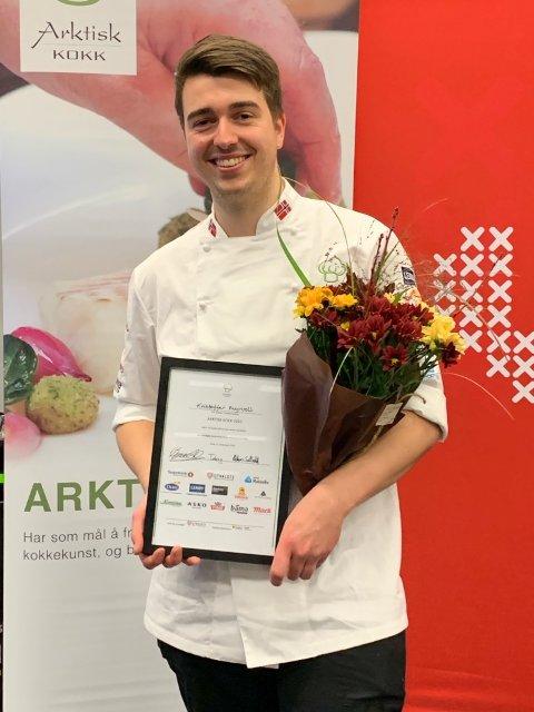 Kristoffer Myrvoll fra LystPå ble årets arktiske kokk.
