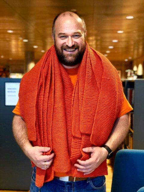 Lars Evan Lauritzen, 4.-kandidat for Åpen folkekirke i Sør-Hålogaland