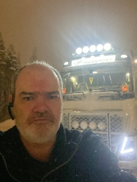 Hans Petersen er trafikksikkerhetskoordinator og styremedlem i Truckers International Association Norge (TIA). Foto: Privat