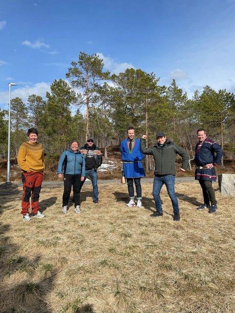 Silvia Ellingsen, Charlotte Paulsen, Asbjørn Ellingsen, Mikkel Eskil Mikkelsen, Vegar J. Bæhr og Eirik Larsen