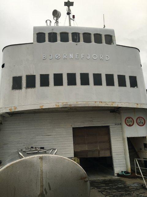 KARAKTERISTISK: «Bjørnefjord» har utseendet til en klassisk HSD-ferge.