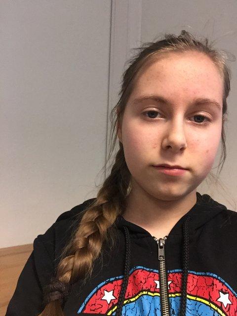 Hlin-Såga Kyrkjeøy, elev ved Rothaugen skole (14 år).
