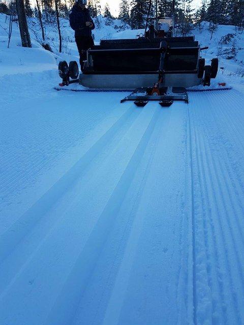Kommunen har preparert skiløyperflere steder i Bergen.