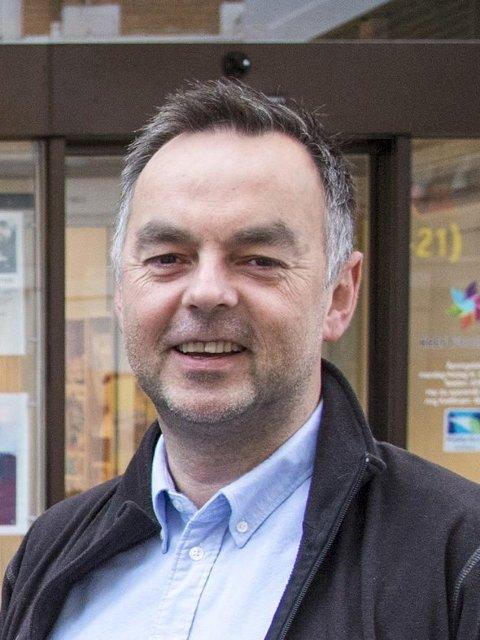 Geir Vangsnes, distriktsleder i Kreftforeningen.
