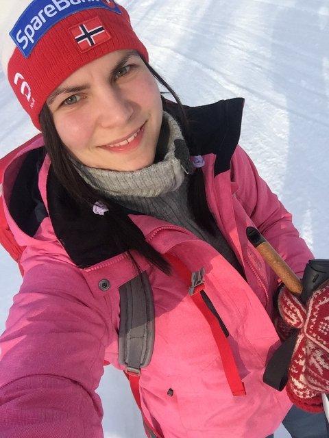 SLUTTER: Nadia Leinan ser at det ikke nytter å fortsette å holde Grethe Roede kurs i Honningsvåg, da interessen har vært laber.