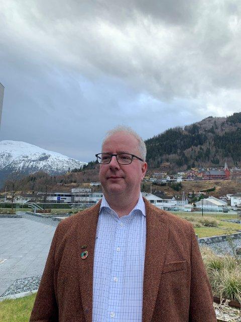 Jan Einan. Leiar i NITO Sogn og Fjordane