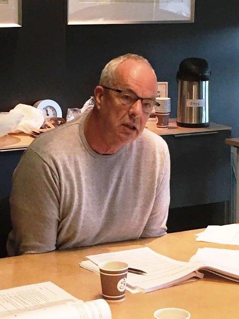LANGET UT MOT ZWART: Terje Moland Pedersen erklærte seg inhabil til å behandle Husebukta-saken.