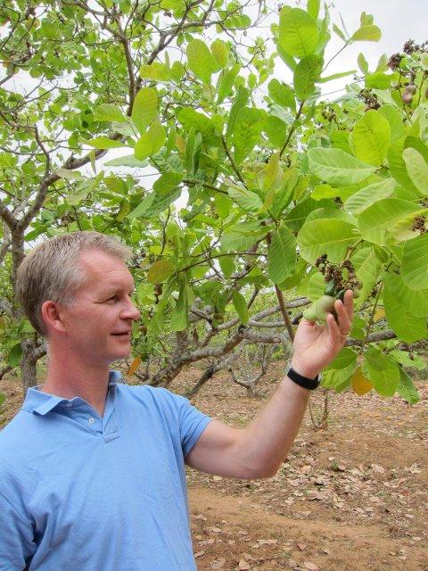 Anders Brynildsen, direktør i Brynild Gruppen AS på besøk i Mosambik.