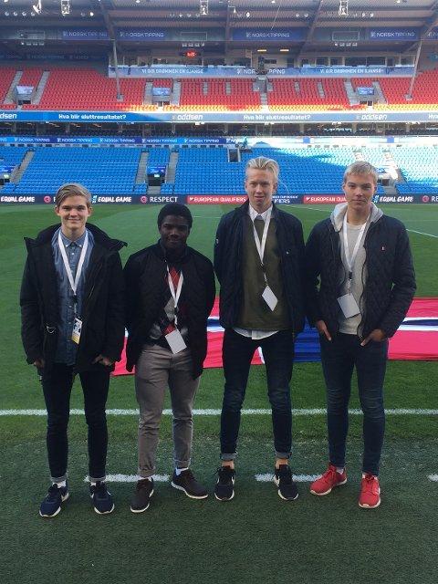 Greåker: Fra Greåker var Abekya Ekiochi,  Joakim Isnes Lindgård,  Marcus Haugen og Christoffer Bya.