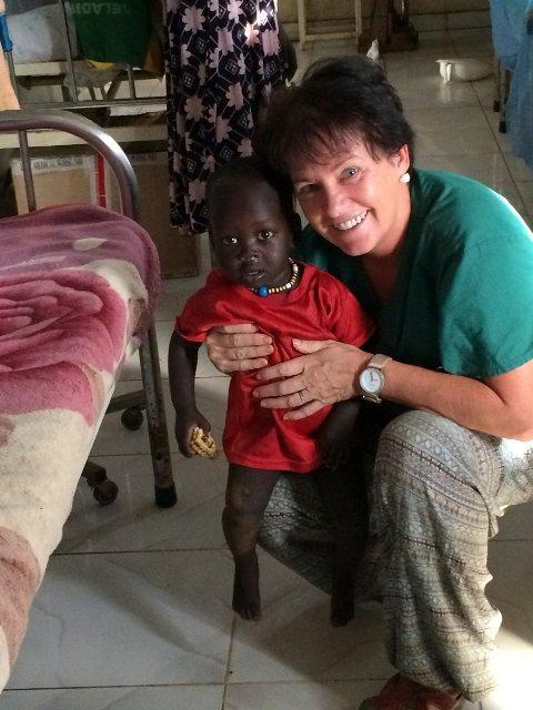 I fjor jobbet Birgitte Gundersen har  6 måneder for ICRC på et sykehus i Maiwut i Sør-Sudan.