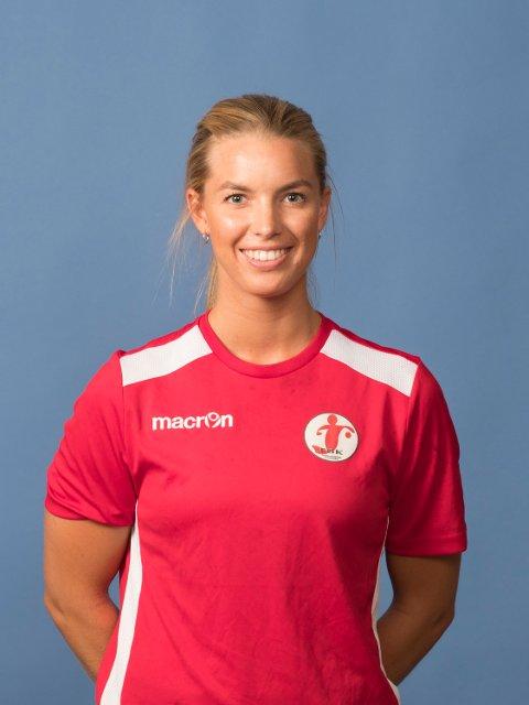 TIL LARVIK: Dorthe Groa valgte i januar å skrive under for Larvik. Nå skal FBK prøve å beholde henne.