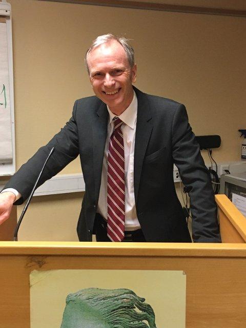 Høyres gruppeleder Truls Velgaard ble tirsdag valgt til partiets ordførerkandidat.