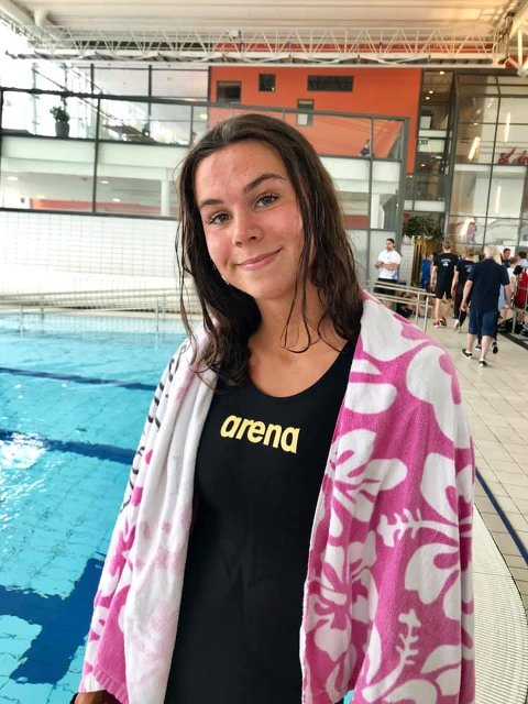 Bronse: Personlig rekord og bronsemedalje var beholdningen for Mathilde Hammer etter første øvelse under NM.