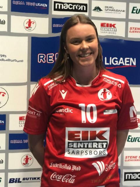 LØSER KEEPERFLOKEN: Julie Næss Brodahl er klar for spill i FBK. Hun kommer fra Oppsal.