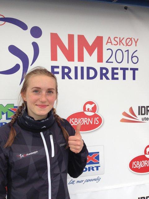 Thale Augensen er klar for start i innendørs-NM i friidrett i helgen.
