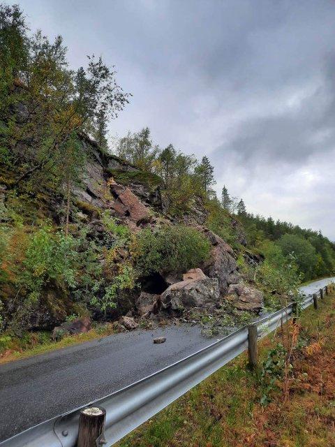Arbeidet med sikring av fjellpartiet som raste ut på Sildvikveien starter lørdag.