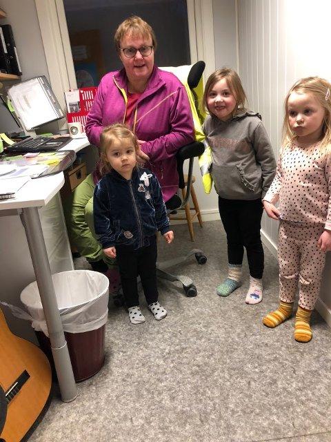 GODKJENNING: Enhetsleder i Måseveien barnehage, Oddrun Andreassen, har endelig fått oppgradert barnehagen, slik at de nå kan starte ny søkeprosess for å få en endelig godkjenning.