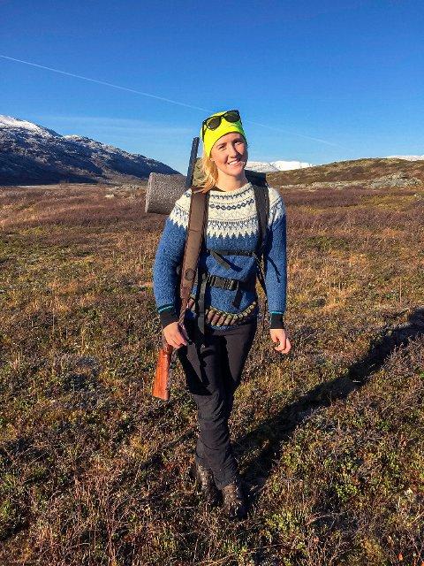 NYANSATT: Julie Gjengstø Johansen har flyttet hjem til Narvik og er Funns nyeste tilskudd.