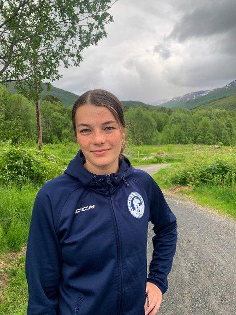 Kamilla Skogvold Olsen er nå tilbake i Umeå etter landslagturnering i Polen.