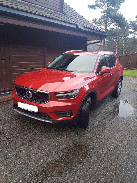 Jørgen og Sissel Skjævelands splitter nye bil fikk være splitter ny i knappe tre uker.