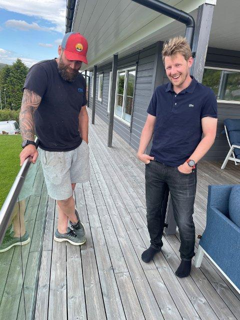 """Thor Aase og Ivan Vaule har begge allerede meldt seg frivillige til """"Hverdagshjelpen"""" Målet er at alle som er berørte av kreft skal ha mulighet til å hjelp."""
