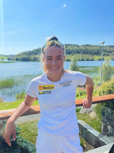 Linn Ravndal gleder seg stort til og igjen konkurrere på hjemmebane til helgen.