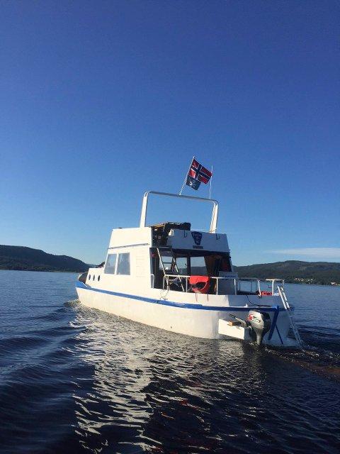 STØRST: En stolt og oppreist båt, en kontrast fra slik den var for bare to år siden.