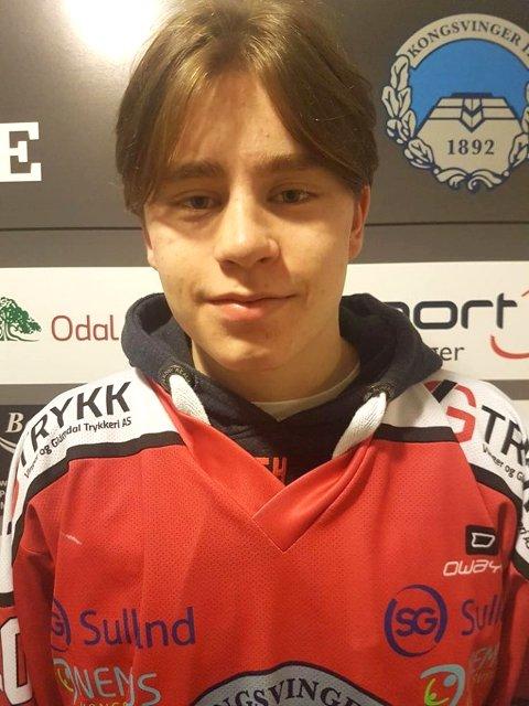 KOMMER TILBAKE: Tobias Sørli er tilbake i hjembyen Kongsvinger etter en periode som elev ved NTG Lillehammer.
