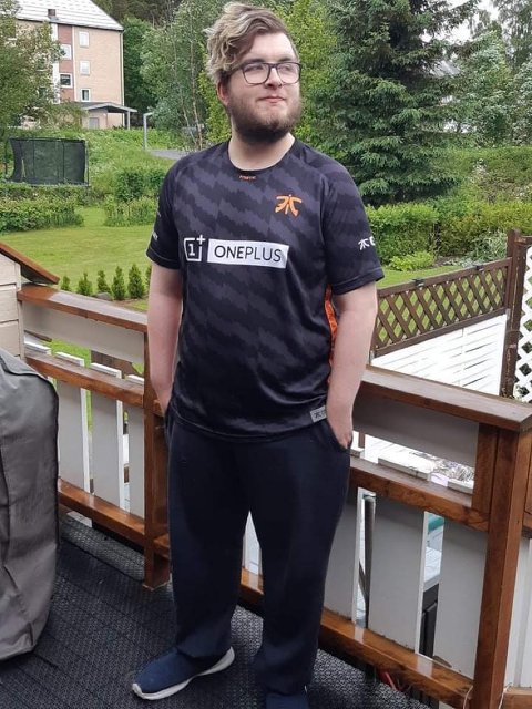 HJEMME IGJEN: Kim Taje (20) er akkurat ferdig med lærlingtiden i Oppdal. Kongsvinger-gutten håper nå på jobb lokalt.