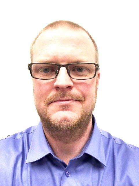 BUTIKKSJEF: Stefan Nilsson Kåpvik starter på Dombås 1. februar.