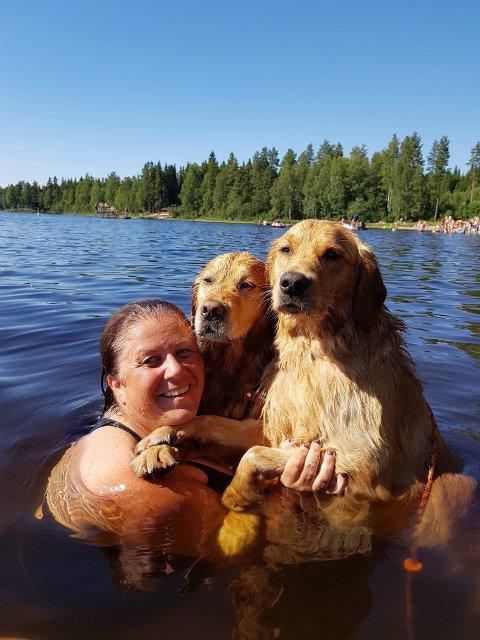 Gleden ved å kunne svømme godt.