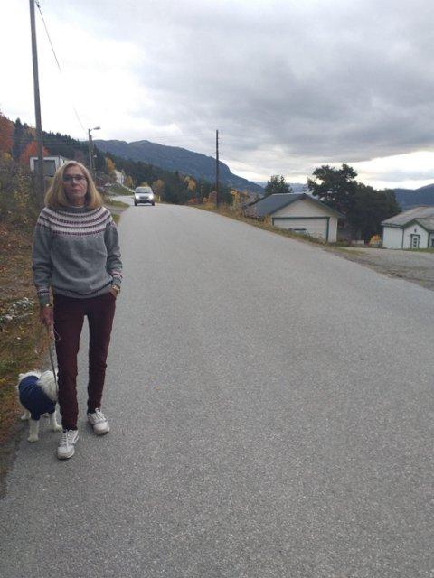 Unni Elisabeth Holmstrøm er leder i Aura Vel