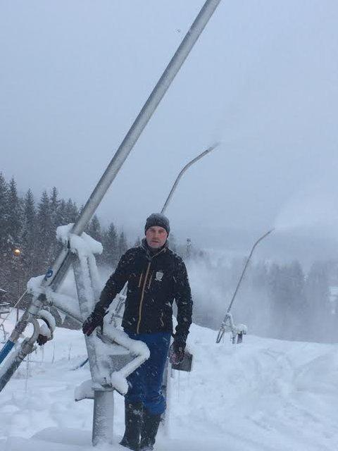 Gleder seg til åpning: Daglig leder i Varingskollen Alpinanlegg, Harald Jøsendal.