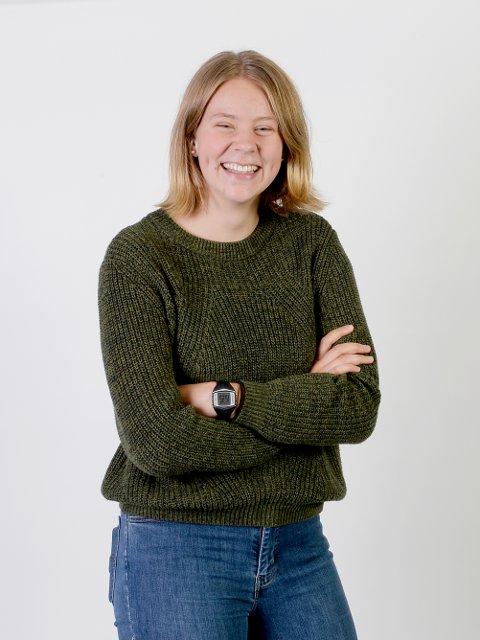 Ingunn Kvernvold Myhre er skribent i uRed som er ungdomsredaksjonen i Hadeland. Hun er 16 år, og kommer fra Vestre Gran.