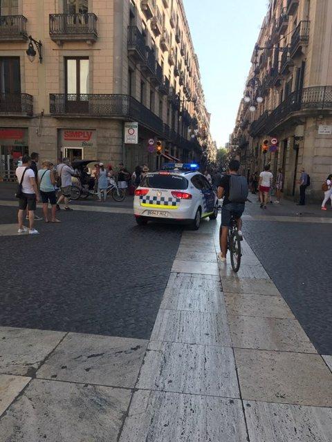 Bilde fra Barcelona 17. august 2017.