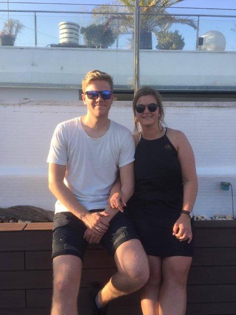 Maren Hvattum og Andreas Bjørseth er på bryllupsreise i Barcelona. Turen fikk en annen start enn de hadde sett for seg.