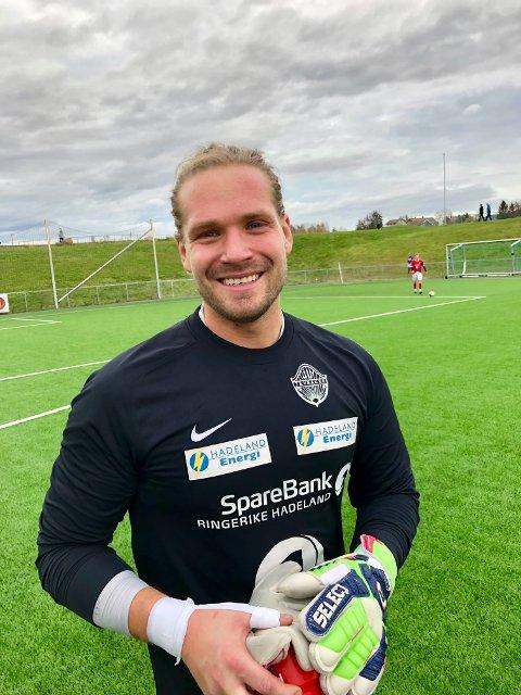 GOD: Andreas Hella var Jevnakers beste spiller mot Mjøndalen 2.