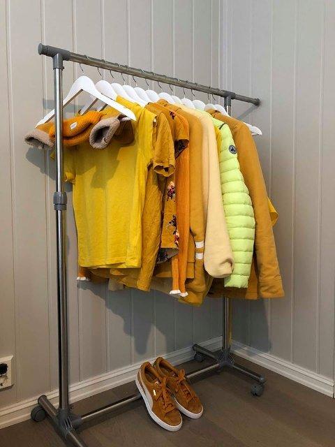 Den gule garderoben til Vilde.