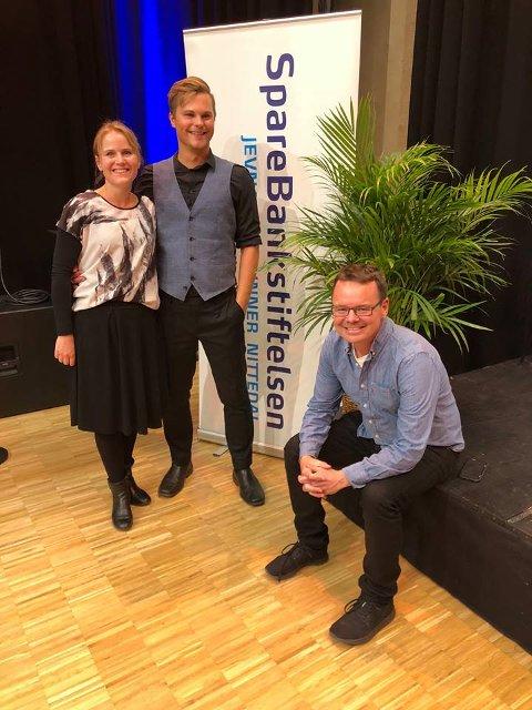 EKSTRAKONSERT: Karin Fristad, Kristoffer Grua og Tor Inger Jakobsen må allerede trå til med ekstrakonsert 19. desember.