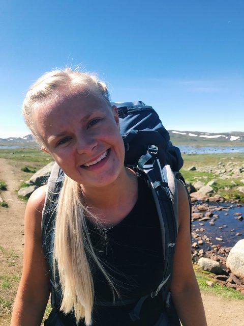 UNGDOMSKANDIDAT: Synne Brørby Munkerud stiller til valg for Arbeiderpartiet i Jevnaker.