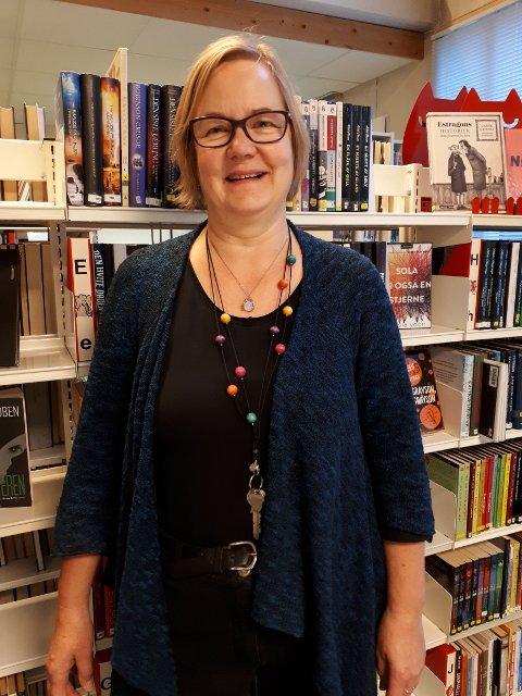 Päivi Särkelä. biblioteksjef, Lunner bibliotek.